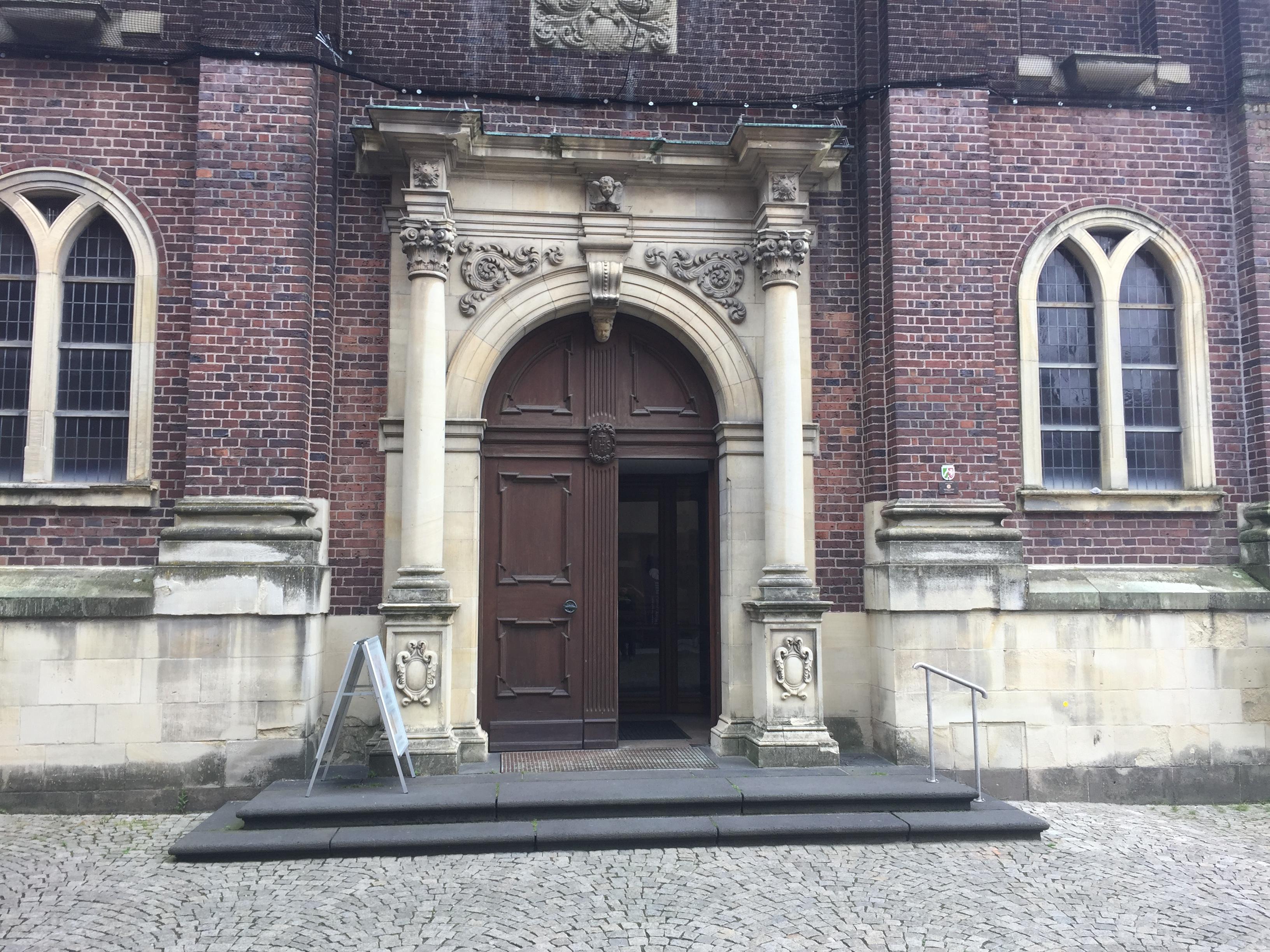 Wiedereintritt Kirche